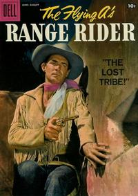 Cover Thumbnail for The Flying A's Range Rider (Dell, 1953 series) #22