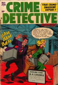 Cover Thumbnail for Crime Detective Comics (Hillman, 1948 series) #v3#8