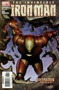 Cover Thumbnail for Iron Man (Marvel, 2005 series) #6