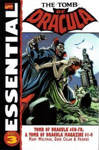 Cover Thumbnail for Essential Tomb of Dracula (Marvel, 2004 series) #3