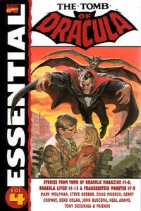 Cover for Essential Tomb of Dracula (Marvel, 2004 series) #4