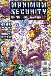 Cover Thumbnail for Maximum Security Dangerous Planet (Marvel, 2000 series) #1