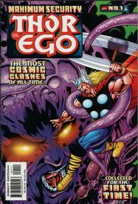 Cover Thumbnail for Maximum Security: Thor vs. Ego (Marvel, 2000 series) #1