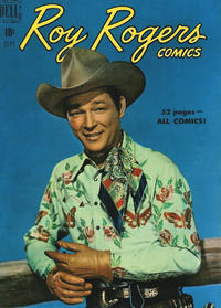 Cover Thumbnail for Roy Rogers Comics (Dell, 1948 series) #33
