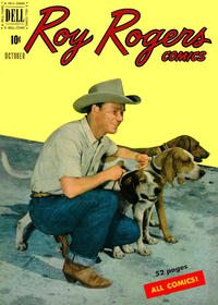 Cover Thumbnail for Roy Rogers Comics (Dell, 1948 series) #34