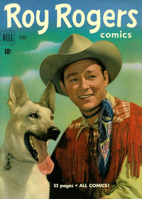 Cover Thumbnail for Roy Rogers Comics (Dell, 1948 series) #42