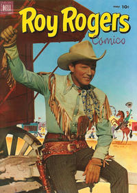Cover Thumbnail for Roy Rogers Comics (Dell, 1948 series) #53