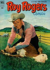 Cover Thumbnail for Roy Rogers Comics (Dell, 1948 series) #57