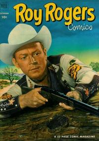 Cover Thumbnail for Roy Rogers Comics (Dell, 1948 series) #58