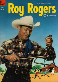 Cover Thumbnail for Roy Rogers Comics (Dell, 1948 series) #66