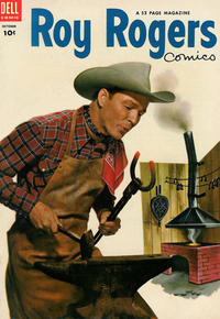 Cover Thumbnail for Roy Rogers Comics (Dell, 1948 series) #70