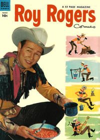 Cover Thumbnail for Roy Rogers Comics (Dell, 1948 series) #75