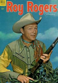 Cover Thumbnail for Roy Rogers Comics (Dell, 1948 series) #84