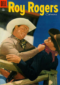 Cover Thumbnail for Roy Rogers Comics (Dell, 1948 series) #89