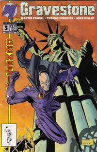 Cover Thumbnail for Gravestone (Malibu, 1993 series) #3 [Direct Edition]