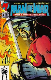 Cover Thumbnail for Man of War (Malibu, 1993 series) #4