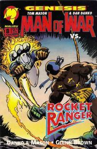 Cover Thumbnail for Man of War (Malibu, 1993 series) #8