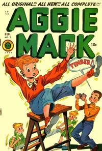 Cover Thumbnail for Aggie Mack (Superior Publishers Limited, 1948 series) #5