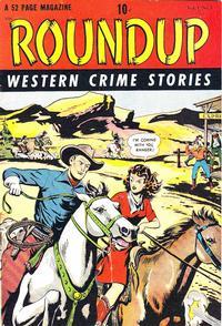 Cover Thumbnail for Roundup (D.S. Publishing, 1948 series) #v1#1