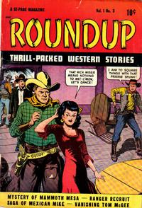 Cover Thumbnail for Roundup (D.S. Publishing, 1948 series) #v1#3