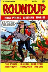 Cover Thumbnail for Roundup (D.S. Publishing, 1948 series) #v1#4