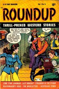 Cover Thumbnail for Roundup (D.S. Publishing, 1948 series) #v1#5