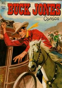 Cover Thumbnail for Buck Jones (Dell, 1951 series) #7