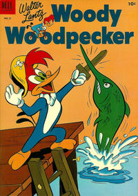 Cover Thumbnail for Walter Lantz Woody Woodpecker (Dell, 1952 series) #17