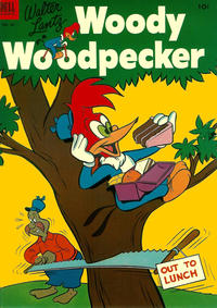 Cover Thumbnail for Walter Lantz Woody Woodpecker (Dell, 1952 series) #18