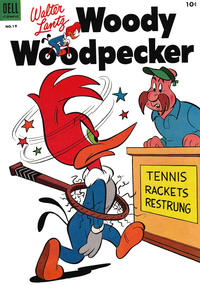 Cover Thumbnail for Walter Lantz Woody Woodpecker (Dell, 1952 series) #19