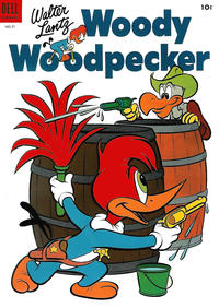 Cover Thumbnail for Walter Lantz Woody Woodpecker (Dell, 1952 series) #21