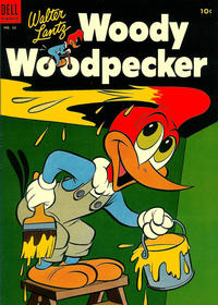 Cover Thumbnail for Walter Lantz Woody Woodpecker (Dell, 1952 series) #23