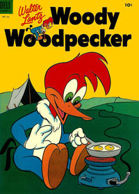 Cover for Walter Lantz Woody Woodpecker (Dell, 1952 series) #24