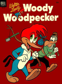 Cover Thumbnail for Walter Lantz Woody Woodpecker (Dell, 1952 series) #25