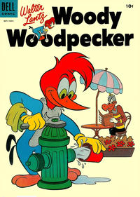 Cover Thumbnail for Walter Lantz Woody Woodpecker (Dell, 1952 series) #27