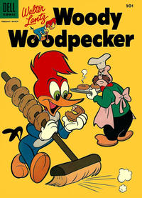 Cover Thumbnail for Walter Lantz Woody Woodpecker (Dell, 1952 series) #29