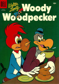 Cover Thumbnail for Walter Lantz Woody Woodpecker (Dell, 1952 series) #32