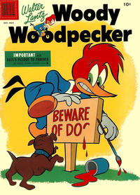 Cover Thumbnail for Walter Lantz Woody Woodpecker (Dell, 1952 series) #33