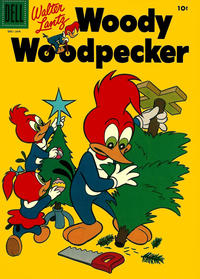 Cover Thumbnail for Walter Lantz Woody Woodpecker (Dell, 1952 series) #34