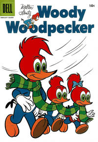 Cover Thumbnail for Walter Lantz Woody Woodpecker (Dell, 1952 series) #35