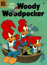 Cover Thumbnail for Walter Lantz Woody Woodpecker (Dell, 1952 series) #44