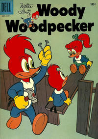 Cover Thumbnail for Walter Lantz Woody Woodpecker (Dell, 1952 series) #45