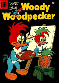 Cover Thumbnail for Walter Lantz Woody Woodpecker (Dell, 1952 series) #48