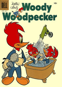 Cover Thumbnail for Walter Lantz Woody Woodpecker (Dell, 1952 series) #49