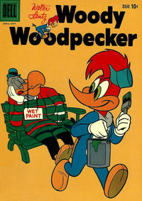 Cover Thumbnail for Walter Lantz Woody Woodpecker (Dell, 1952 series) #54