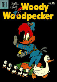 Cover Thumbnail for Walter Lantz Woody Woodpecker (Dell, 1952 series) #55