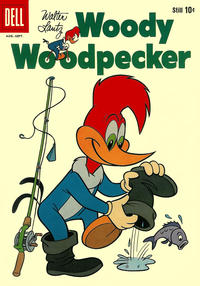 Cover Thumbnail for Walter Lantz Woody Woodpecker (Dell, 1952 series) #56
