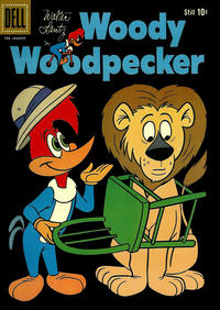 Cover Thumbnail for Walter Lantz Woody Woodpecker (Dell, 1952 series) #59