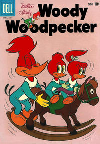 Cover Thumbnail for Walter Lantz Woody Woodpecker (Dell, 1952 series) #60