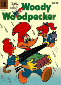Cover Thumbnail for Walter Lantz Woody Woodpecker (Dell, 1952 series) #61